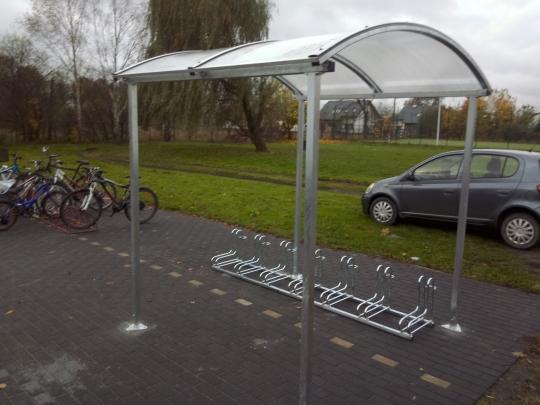 Wiata na 6 rowerów